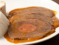Carne Assada com Linguiça